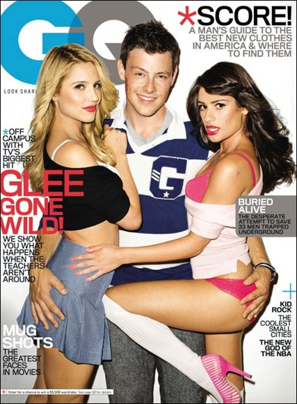 "Dianna Agron Apologizes for Racy ""Glee"" GQ Cover"