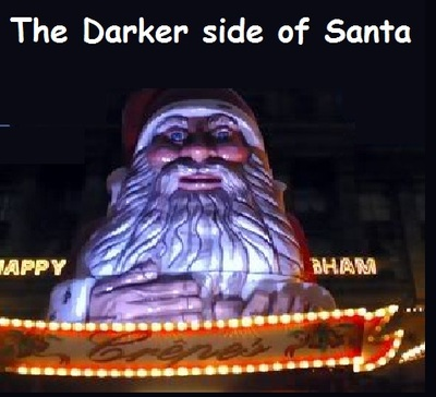 THE DARKER SIDE OF SANTA CLAUSE THE EVIL ORIGINS OF CHRISTMAS